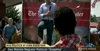Gay Man Confronts Pawlenty: 'Do You Think I'm A Second Class Citizen?'