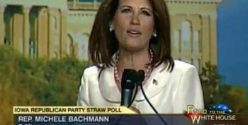 Michele Bachmann Panders To Iowa