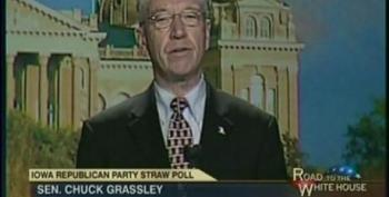 Chuck Grassley Rails About President Obama Taking Responsibility For His Policies
