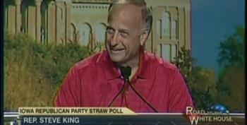 Rep. Steve King Claims The Stock Market Would Go Up If Obama Embraced The Policies Of Milton Friedman