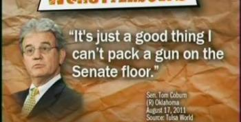 Keith Olbermann Makes Coburn Worst Person For Talk Of Bringing A Gun To The Senate Floor