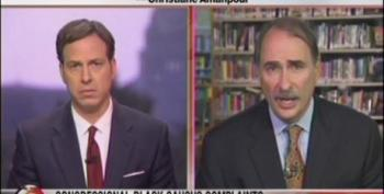 Jake Tapper Asks David Axelrod About Liberals' Frustrations With President Obama