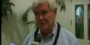 Gingrich Campaign Gets Lei'd In Hawaii