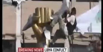 Rebels Breach Walls Of Gaddafi Compound