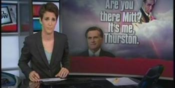 Rachel Maddow Wonders If Mitt Romney Has Decided To Embrace His Inner Thurston Howell