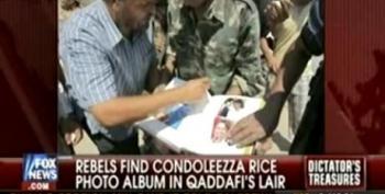 Rebels Find Gaddafi's Love Album Of Condoleeza Rice