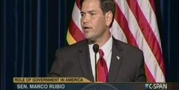 Marco Rubio Blames Poverty On Lack Of Access To 'Free Enterprise System' And Our 'Social Problems'