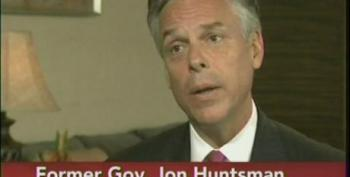 Huntsman Calls For Shared Sacrifice From The Rich -- But Not With Tax Increases