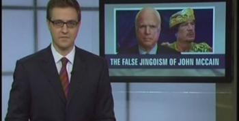 Chris Hayes Slams John McCain For His Push To Arm Gadhafi