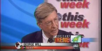 George Will Calls Media Coverage Of Hurricanes Overblown Because He's Already Aware They Might Hit His S.C. Vacation Home
