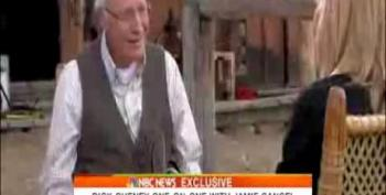 Cheney Disconnects His Heart Pump Battery During NBC Interview