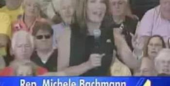 Bachmann: Hurricane Is God's Warning About Government Spending