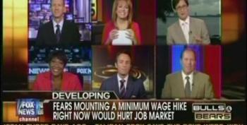 Fox Bulls And Bears Panelists Fearmonger Over Raising Minimum Wage