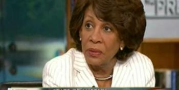 Maxine Waters On Education And Joblessness