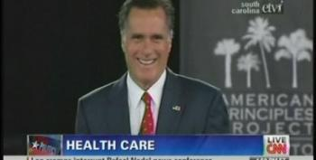 Romney Again Tries To Spin His Way Out Of Passing His Massachusetts Health Care Law At DeMint's Forum