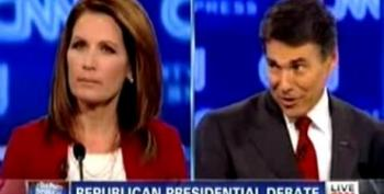 Bachmann Calls Out Perry For Taking Money From HPV Vaccine Drug Company