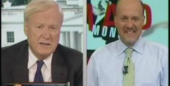 Chris Matthews Slams Jim Cramer For Pretending Having A Republican As President Would Help With Job Creation
