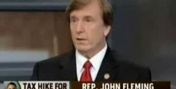 Tea Party Rep. John Fleming: Only $400,000 Left After 'I Feed My Family'