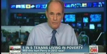 Cafferty File: How Much Will It Hurt Rick Perry That Nearly 1 In 5 Texans Live In Poverty?