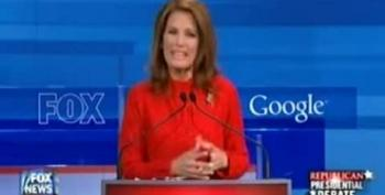 Bachmann Proposes To Eliminate All Taxes