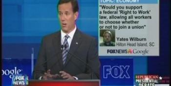 Rick Santorum Advocates For Getting Rid Of All Public Sector Unions