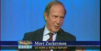 Mort Zuckerman Really Doesn't Want To Talk About Just How Rich He Is On The McLaughlin Group