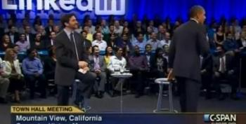 Ex-Google Employee At LinkedIn Town Hall: Mr. President, Please Raise My Taxes