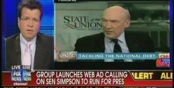Alan Simpson For President? Neil Cavuto Seems To Think So