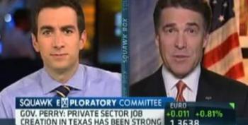 Rick Perry: Warren Buffett Hasn't Got A Clue About The Private Sector