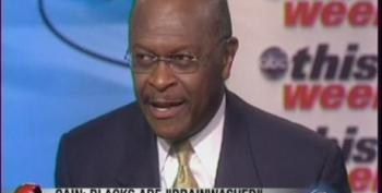 Herman Cain Reiterates That Blacks Are Brainwashed, Warns About Sharia Law