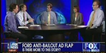 Fox News Watch Panel Continues To Flog Discredited Obama Bullied Ford Story