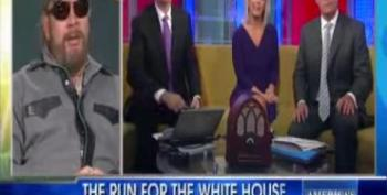 Hank Williams Jr. Calls Obama A Nazi And The Enemy On Fox & Friends
