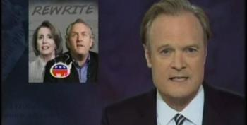 Lawrence O'Donnell Takes Mr. Hollywood Wanna' Be Breitbart Down A Notch For Attacking Janeane Garofalo
