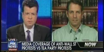Cavuto Brings On Tea Party Patriots' Mark Meckler To Complain About Media Coverage Of Wall Street Protests