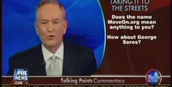 Bill O'Reilly Attacks MoveOn And Soros For Supporting Occupy Wall Street Protests