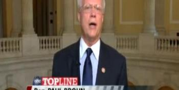 GOP Rep. Broun: 'Occupy Wall Street' Is 'Attack Upon Freedom'