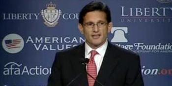 Cantor 'Concerned About Growing Mobs' At Occupy Wall Street