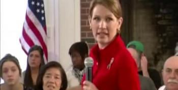 Bachmann Tells Man With 'No Teeth' To Rely On Charity
