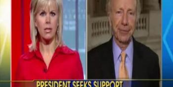 Fox Host To Joe Lieberman: You Sound Like A Republican
