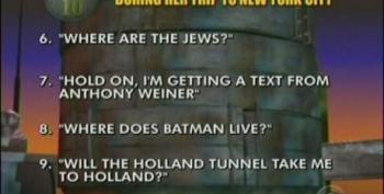 Top Ten Things Michele O'Bachmann Said During Her Trip To New York City