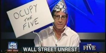 The Five's Eric Bolling Dons Tinfoil Hat To Mock #OWS Protesters