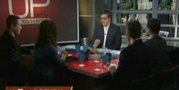Chris Hayes Panel Discussion On BofA Arrests And #OWS Movement