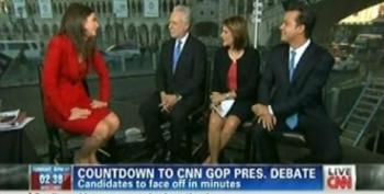 Erin Burnett Panel Drowned Out By #OWS Protesters