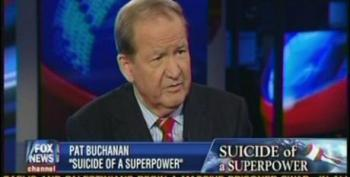 Pat Buchanan: America Is Disintegrating Because White America Is An Endangered Species
