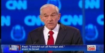 Ron Paul Tears Down Saint Ronnie While Debating Hostage Negotiation Issue