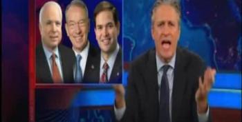 Jon Stewart On GOP Reaction To Gaddafi's Death