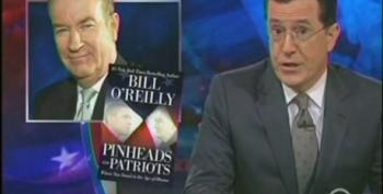 Stephen Colbert Defends 'Patriot' Papa-Bear O'Reilly After Soldiers Burn His Book In Afghanistan