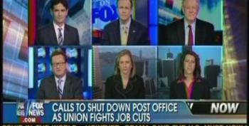 Fox Panel Pushes For Privatizing The United States Post Office