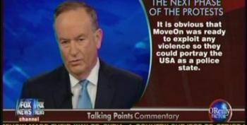 Bill O'Reilly Attacks #OWS As Being Sponsored By MoveOn
