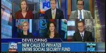 Forbes On Fox Panelists Push For Social Security Privatization